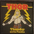 Thor - Patch - Thor thunder on the tundra black border patch