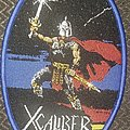 XCaliber - Patch - Xcaliber warriors of the night blue border oval patch