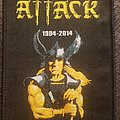 Attack - Patch - Attack 30 years of metal patch