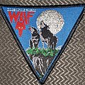 Wolf - Patch - Wolf edge of the world black border triangle patch