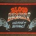 Blood Money - Patch - Blood money red raw and bleeding red glitter border strip