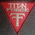 Titan Force - Patch - Titan force logo triangle patch