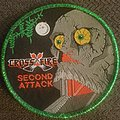 Crossfire - Patch - Crossfire second attack green glitter circular patch