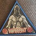 Warrant - Patch - Warrant blue border triangle patch