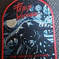 Fates Warning - Patch - Fates warning specter within red border patch
