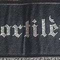 Sortilege - Patch - Sortilege black borderd strip patch
