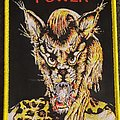 High Power - Patch - High power yellow border patch