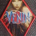 Venin - Patch - Venin red border diamond patch