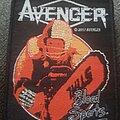Avenger - Patch - Avenger blood sports official black border patch