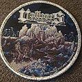 Vultures Vengeance - Patch - Vultures vengence silver glitter circular patch