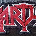 Martyr - Patch - Martyr embroidered logo patch
