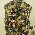 The Clash - Battle Jacket - Bleached Punk Vest on the loose!