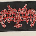 Enslaved - Patch - ENSLAVED Patch (Logo, Red)