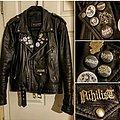 Nihilist - Battle Jacket - Death metal/punk Leather jacket
