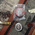 Misery Index - Pin / Badge - Pins up for grabs