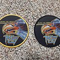 Riot City - Patch - Lazer eagle!!!!