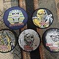 Iron Maiden - Patch - Iron maiden circle eddie patches