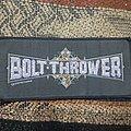 Bolt Thrower - Patch - Bolt thrower logo patch