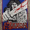Saxon - Patch - Saxon backpatch for my new vest