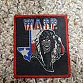 W.A.S.P. - Patch - Wasp red border blind in texas