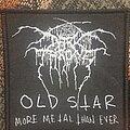 Darkthrone - Patch - Darkthrone old star logo patch