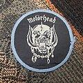 Motörhead - Patch - Motorhead snaggletooth patch blue border
