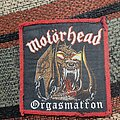 Motörhead - Patch - Motorhead orgasmatron