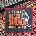 Black Sabbath - Patch - Black sabbath mob rules patch