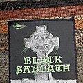 Black Sabbath - Patch - Black sabbath cross patch