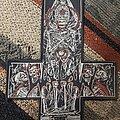 Watain - Patch - Large watain cross patch