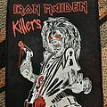 Iron Maiden - Patch - Iron maiden killers large patch