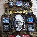 Megadeth - Battle Jacket - Camo battlevest in progress