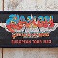 Saxon - Patch - Saxon European Tour Patch