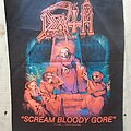 Death - Patch - Death Scream Bloody Gore Back Patch