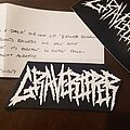 Graveripper - Patch - Graveripper patch, sticker, and and note from band member.