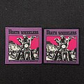 The Death Wheelers - Patch - The Death Wheelers - I Tread On Your Grave woven patch