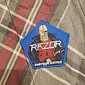 Razor - Patch - Razor Shotgun Justice patch from Starside Relics