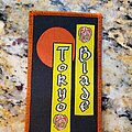 Tokyo Blade - Patch - Tokyo Blade logo patch, with a red border.