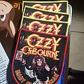 Ozzy Osbourne - Patch - Ozzy Osbourne - Diary Of A Madman woven patches