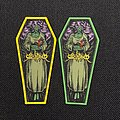 Witchtrap - Patch - Witchtrap - Trap The Witch coffin shaped patch