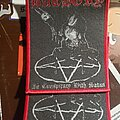 Bathory - Patch - Bathory - In Conspiracy With Satan woven patch