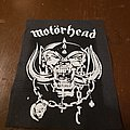 Fabric printed Motorhead patch.