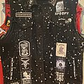 Pentagram - Battle Jacket - Black & white jacket- now finished.