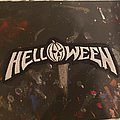 Helloween - Patch - Helloween logo shape cut patch.
