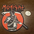 Midnight - Patch - Laser-cut Midnight patch.