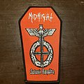 Midnight - Patch - Coffin shaped MIDNIGHT patch