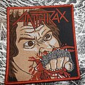 Anthrax - Patch - Anthrax Fistful Of Metal patch