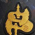 """Saxon - Patch - Saxon """"s"""" logo patch"""