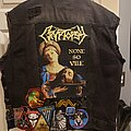 Cryptopsy - Battle Jacket - New jacket, started today.
