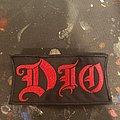 Dio - Patch - Dio logo patch.